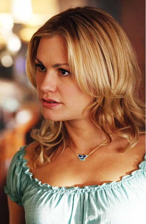 "Anna Paquin as Sookie Stackhouse in ""True Blood."""