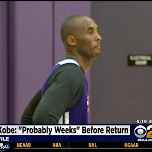 Kobe Bryant Talks Contract Extension And Return