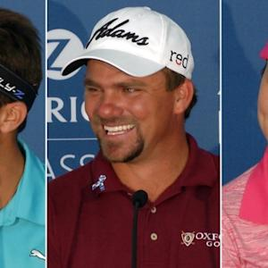 Nicholas, Curtis and Lexi Thompson talk sibling rivalry at Zurich Classic
