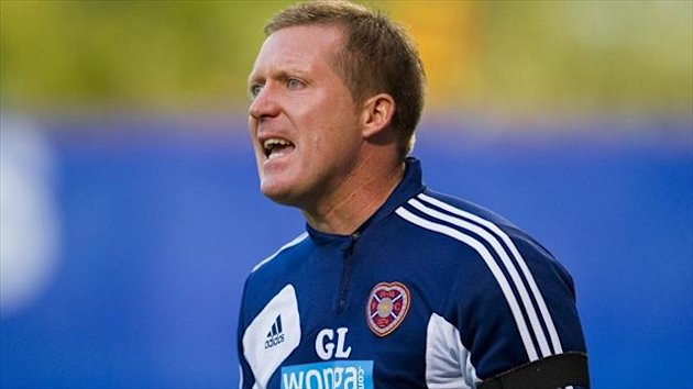 Gary Locke hailed his Hearts players for 'working their socks off'