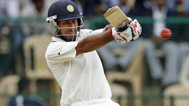 CRICKET, Cheteshwar Pujara, India, 2012 (Reuters)
