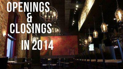 Countdown to 2015: Openings and Closings in April 2014