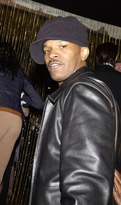 Jamie Foxx Elton John AIDS Foundtation In-Style Party Hollywood, CA 3/24/2002