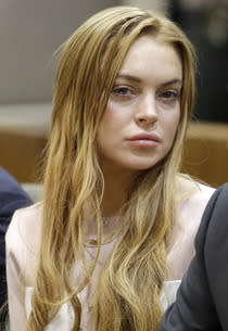 Lindsay Lohan  | Photo Credits: Reed Saxon/Pool/Getty Images