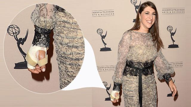 Mayim Bialik's Red Carpet Return