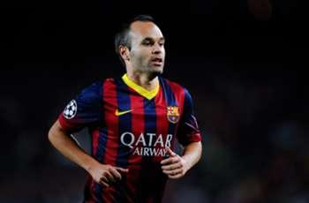 Iniesta's new £11.7m Barca deal finally ends Madrid dream of signing Spain star