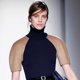 Victoria Beckham AW13/14 collection at New York Fashion Week
