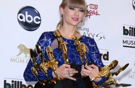 Taylor Swift wins eight Billboard awards! Justin Bieber, Gotye and Rihanna among the other big winners