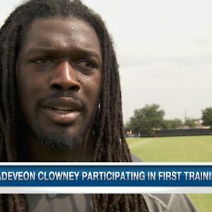 Houston Texans defensive end Jadeveon Clowney on his transition to the NFL