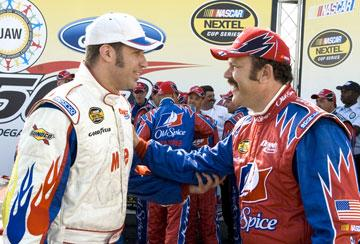 Will Ferrell and John C. Reilly in Columbia Pictures' Talladega Nights: The Ballad of Ricky Bobby