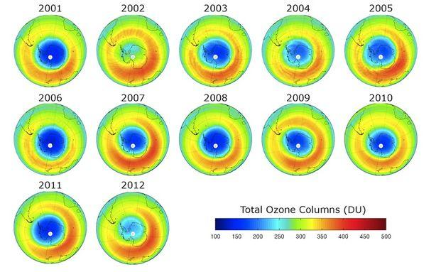 The Hole in the Ozone Has Shrunk to a Record Low