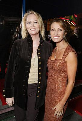 Cybill Shepherd and Jane Seymour at the Los Angeles premiere of DreamWorks Pictures' The Heartbreak Kid
