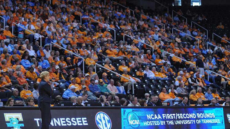 NCAA Womens Basketball: NCAA Tournament-Tennessee vs Oral Roberts
