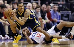 Hibbert leads Pacers over 76ers, 88-69