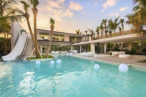 Tour That Incredible $34M Miami Home With the Waterslide