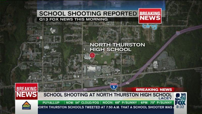 Police: School shooter said he didn't plan to hurt students