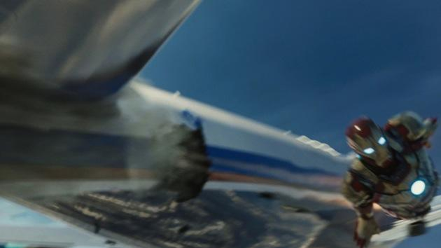 WATCH: 'Iron Man 3' − A Closer Look At Shellhead's Dramatic Air Rescue Sequence