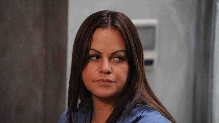 "This publicity photo provided by Pantelion Films shows Jenni Rivera as Maria Tonorio in a scene from the film, ""Filly Brown."" The film releases on April 19, 2013. (AP Photo/Pantelion Films, John Castillo)"