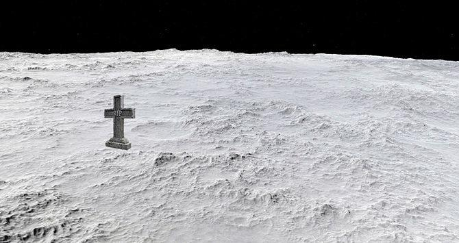 If We Can't Live on Mars, Being Dead on the Moon Is the Next Best Thing