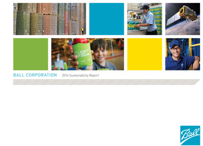 Ball Corporation Releases 2014 Sustainability Report