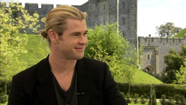 Chris Hemsworth: Why Did He Name His Baby Girl India? -- Access Hollywood