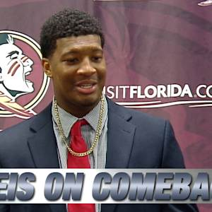 FSU QB Jameis Winston Talks Comeback Win Over NC State