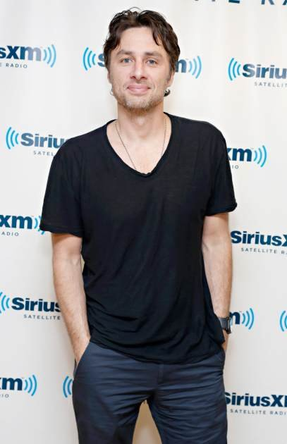 Zach Braff visits the SiriusXM …
