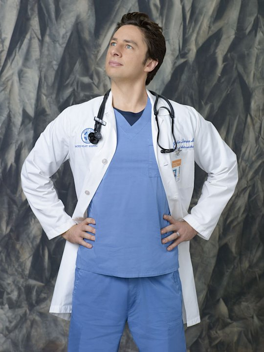 Zach Braff stars as J.D. in &quot;Scrubs.&quot; 
