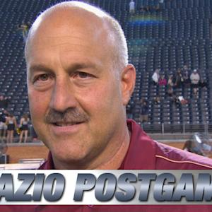 BC Head Coach Steve Addazio on Big Road Win vs Wake Forest