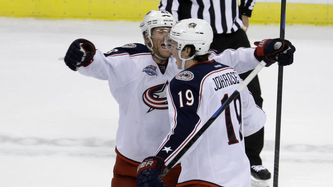 Johansen lifts Blue Jackets past Panthers in SO