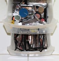 My Beauty drawers (very scary!)