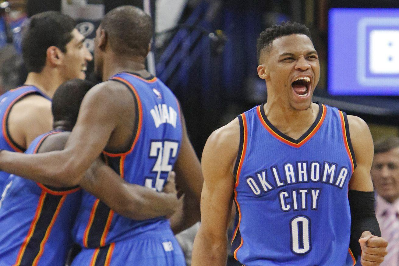 NBA Playoffs Monday: Thunder earn controversial Game 2 victory