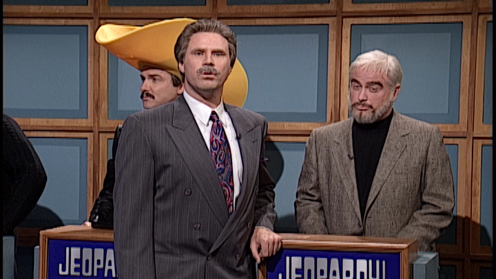 Celebrity Jeopardy: Stewart, Reynolds and Connery