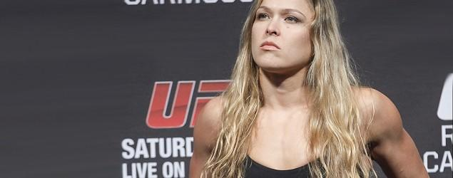 Rousey cites 'most dangerous place' for MMA