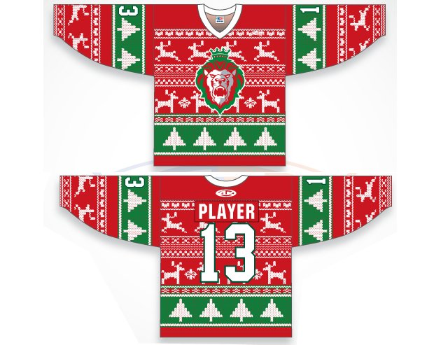 ECHL: Behold The Reading Royals Ugly Christmas Sweater Jerseys (Photo)