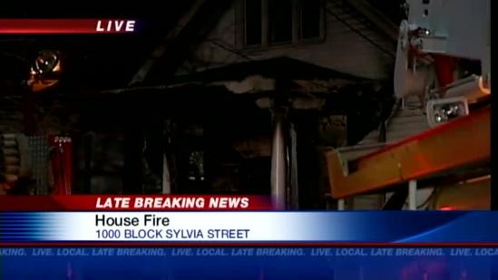 Man injured in house fire in Meriwether area