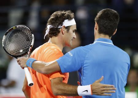 Awesome Federer floors Djokovic in straight sets