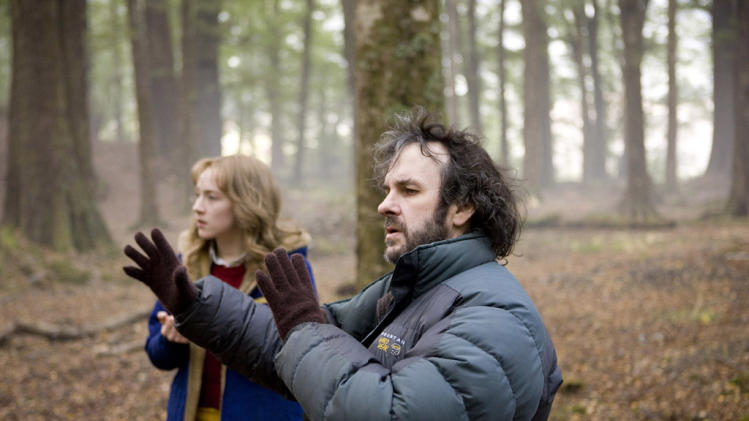 Saoirse Ronan Director Peter Jackson The Lovely Bones Production Stills DreamWorks 2009