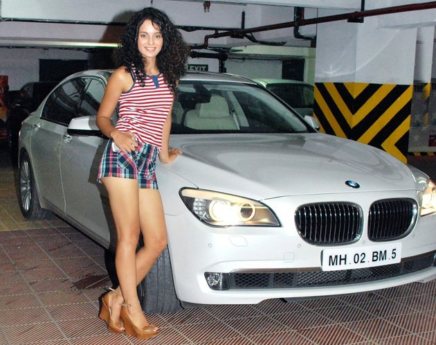 kangna ranaut bought herself a bmw 7 series on her 21st birthday she