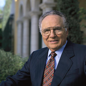 This undated photo provided by the Apollo Education Group shows John G. Sperling, founder of the Univertsity Of Phoenix. Sperling, 93, a billionaire, died Sunday, Aug. 24, 2014, at a hospital near San Francisco, according to a statement from Apollo Education Group, the parent company of the University of Phoenix. His cause of death was not disclosed. Sperling stepped down two years ago as Apollo's executive chairman, but his legacy remains as the founder of one of the biggest disrupters of traditional higher education. (AP Photo/Apollo Education Group)