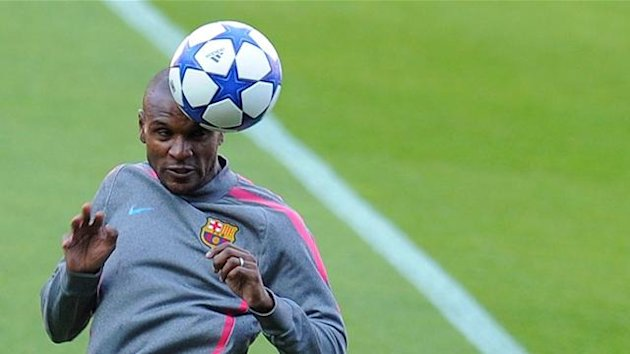 FOOTBALL 2011 FC Barcelona Eric Abidal