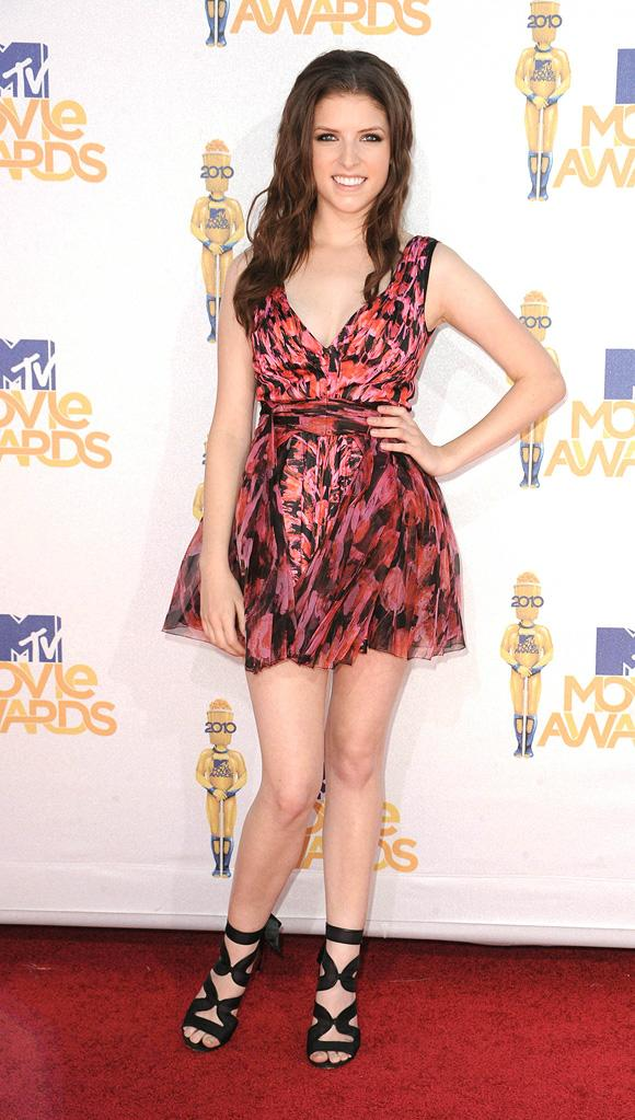 Fashion Report Card MTV Movie Awards 2010 Anna Kendrick
