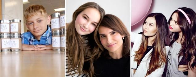 Teen beauty moguls share secrets to their success