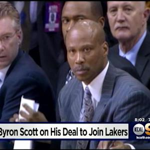 Lakers Byron Scott Tells Jim Hill That He And Lakers Have Come To Agreement To Coach Team