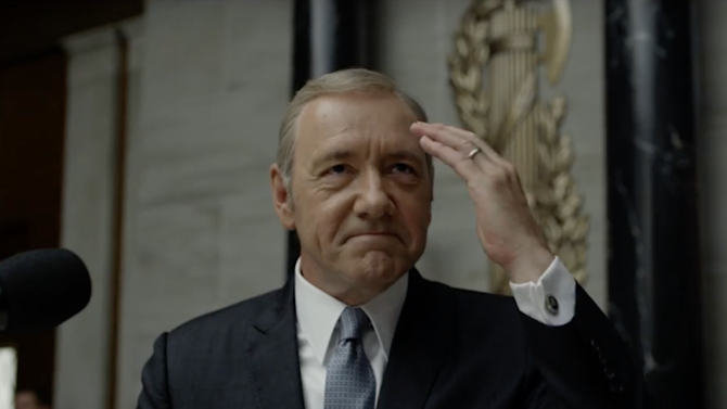 Watch the first official trailer for House of Cards' fourth season
