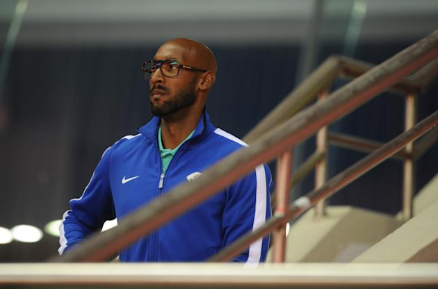French striker Nicolas Anelka arrives fo
