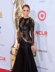 Nicole Richie arrives to the ALMA Awards in Los Angeles on September 16, 2012 -- Getty Images