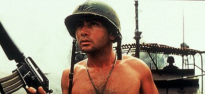 Martin Sheen as Willard in Miramax's Apocalypse Now Redux