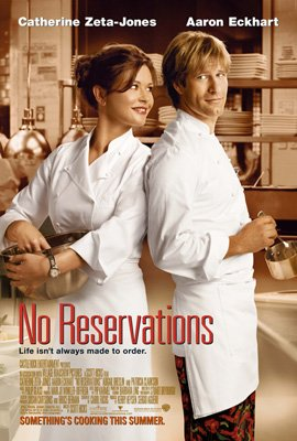Catherine Zeta-Jones and Aaron Eckhart star in Warner Bros. Pictures' No Reservations