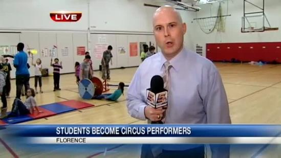 Circus acts teach kids personal skills